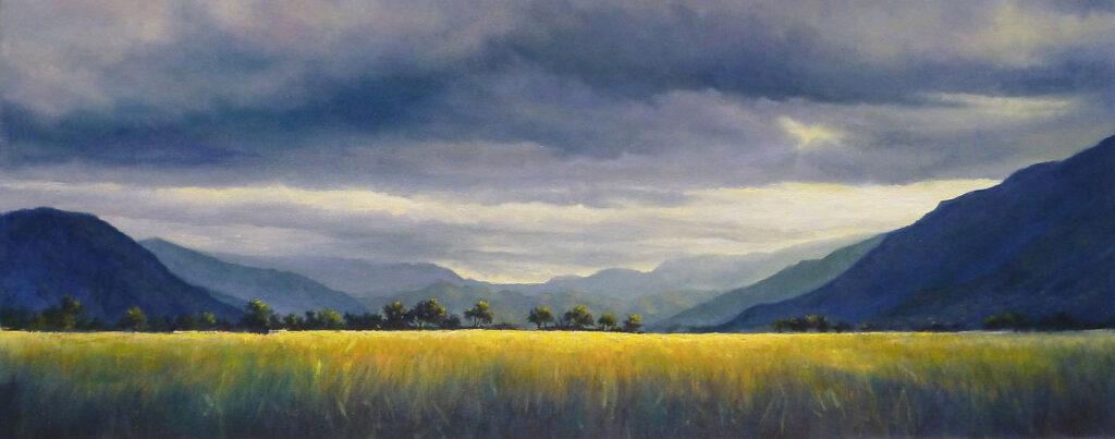 Storm Brewing over Redlynch Valley - 2016